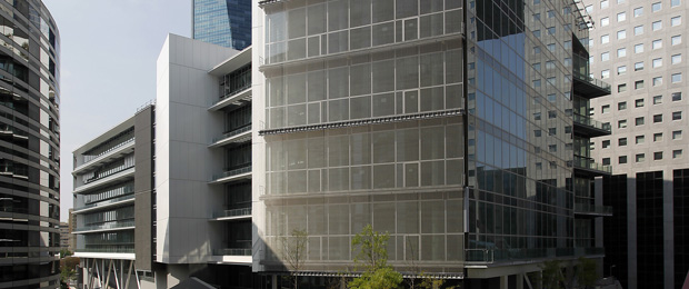 Basalte paris la d fense 92 nexity for Immeuble bureaux hqe