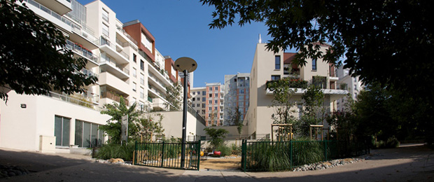 Quartier charras courbevoie 92 nexity - Piscine charras courbevoie ...