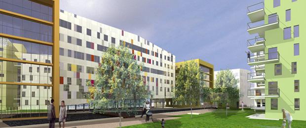 Immobilier entreprise r alisation bureaux nexity for Immeuble bureaux hqe
