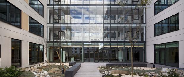 Equalia alfortville 94 nexity for Immeuble bureaux hqe