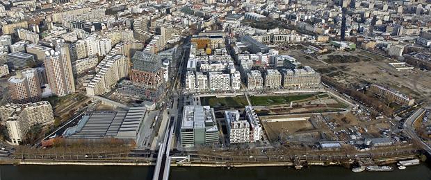 Quartier Trapèze à Boulogne