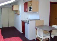 Photo intérieur appartement résidence étudiant cuisine