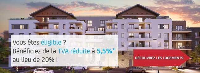 logements TVA réduite