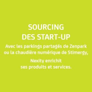sourcing start-up